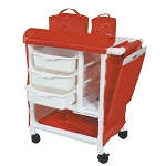 Optional Panel Covers for PVC Emergency Crash Cart