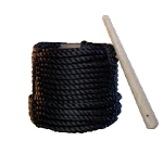 Black Poly Rope Painter Line 100 FT