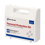 BBP Spill Clean Up Apparel Kit with CPR Pack, Plastic Case