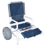2 Wheel Mid High All Terrain Chair made from PVC