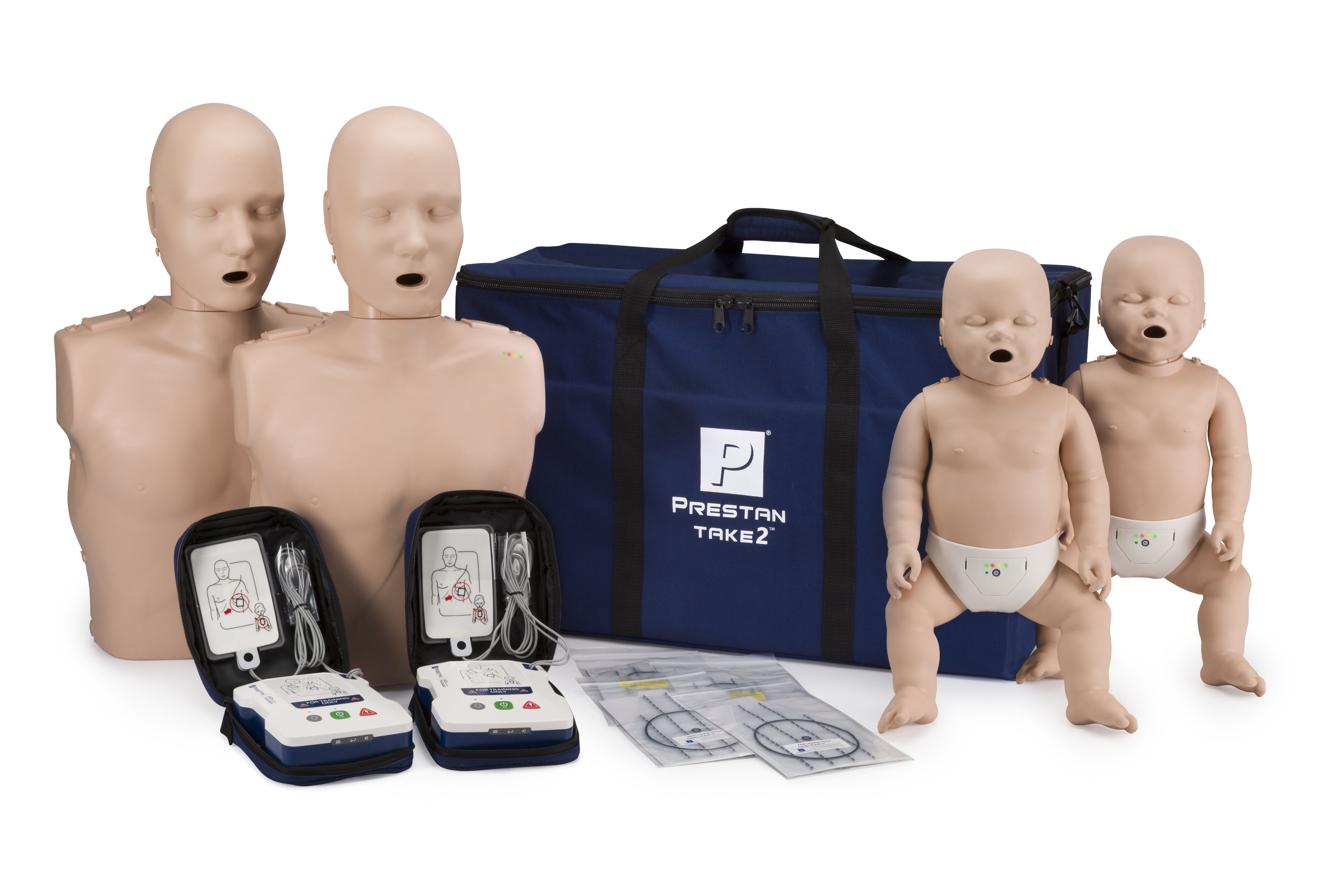 The NEW Prestan TAKE2  has what you need to start your career in CPR Training