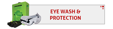 Eye Wash and Protection