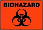 Biohazard Sign (Plastic)