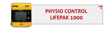 Physio Control LifePak 1000 AED & Accessories