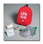 Adult/Child CPR Mask in Soft Case - Red