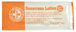 Sunscreen Lotion Packets (100 Packets)