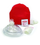 Kemp CPR Mask In Red Pouch