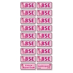 Breast Self Examination Reminder Stickers