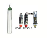 ME Medical Oxygen Cylinder with Post Valve