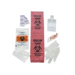 KEMP  Bloodborne Pathogen Kit in Plastic Bag