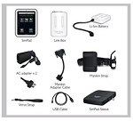 SimPad System (with SimPad, Link box, 2 AC Power Supplies, Rechargeable Battery)