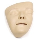 Adult Manikin Faces, Decorated / 6 Pack