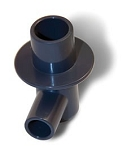 Unit Connection Elbow for Laerdal Compact Suction Unit 3, 800ml and 300ml