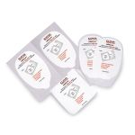 ElectroLast AED Trainer Foam Electrode Peel-Off Pads - Heartstream Style (Set of 5)
