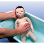 Male Baby Care Model with Japanese Facial Features