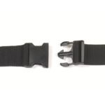 Restraints Polypropylene, 2 piece 9' - Black