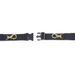 Polypropylene Restraint 7' 2 piece, Black (1 each)
