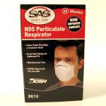 Dust Mask - N95 Box of 20