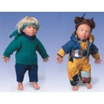 Down Syndrome Doll (Male, Caucasian, Tim)