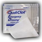 QuikClot Emergency Dressing (EMS, 4