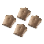 Dark Torso Skin Replacements for PRESTAN® Adult Manikin (4-Pack)