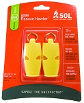 SOL Rescue Howler Whistle, Pkg./2