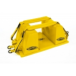 Kemp Yellow Head Immobilizer Replacement Straps (Pair)