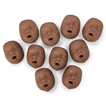 Beth/Black Kim Face Piece (10-Pack)