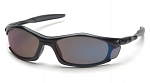 SOLARA - Blue Mirror Lens with Black Frame