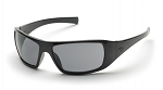 GOLIATH - Gray H2X Anti-Fog Lens with Black Frame