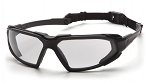 HIGHLANDER - Clear H2X Anti-Fog Lens with Black Frame