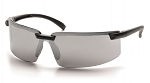 SURVEYOR - Silver Mirror Lens with Black Frame