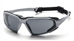 HIGHLANDER - Gray H2X Anti-Fog Lens with Silver/Black Frame