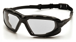 HIGHLANDER PLUS - Clear H2X Anti-Fog Lens with Black/Gray Frame