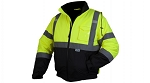 RJ32 SERIES JACKETS - Type R - Class 3 Hi-Vis Lime Jacket 3X-Large