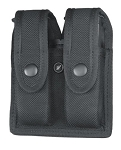 X647-3 Double Magazine Case (Black Ballistic Nylon)