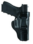 Concealment Inside Trouser Holster Fits Glock 29, 30, 39 (Black)