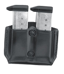 Gold Line Double Mag Case With Belt Loops (Black)