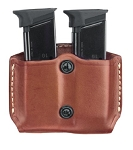 Double Magazine Case (Chestnut Brown)