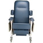 Geri Chair Infinite Position Recliner - Jade