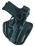 G&G Three Slot Pancake Holster - Fits GLOCK 17, 22, 31