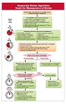 Algorithm for Suspected Stroke & Prehospital Stroke Scale Card