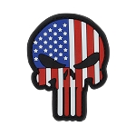PVC Punisher Patches (6 pcs)