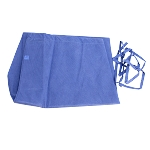 Disposable Scrub Pants, Tie Waist, Light Blue, 30/cs