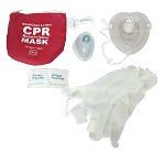 CPR Mask Kit with Adult & Infant Mask