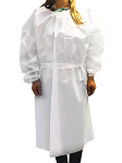 Custom REUSABLE Waterproof Tricot Isolation Gown