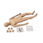 Full Body Adult CPR Manikin with Console