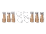 Valve/Clamp Set, Pediatric, Anal (3), Ur