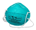 3M N95 Health Care Particulate Respirator and Surgical Mask - Single