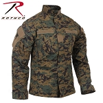 Woodland Digital Combat Uniform Shirt